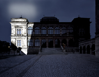 Gunda Foerster, LIGHTNING, spotlights, Neues Museum Weimar | permanent piece since 1999_2