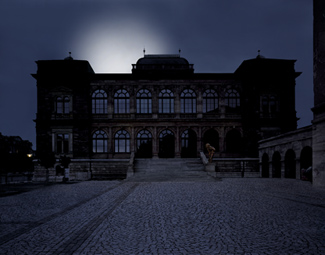 Gunda Foerster, LIGHTNING, spotlights, Neues Museum Weimar | permanent piece since 1999_8