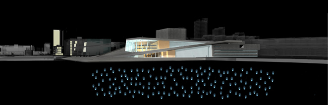 Gunda Foerster, LIGHT IMPULSE, New Opera House – Water Project, Oslo | concept, 2007_6