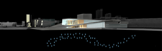 Gunda Foerster, LIGHT IMPULSE, New Opera House – Water Project, Oslo | concept, 2007_7