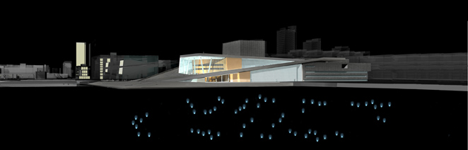 Gunda Foerster, LIGHT IMPULSE, New Opera House – Water Project, Oslo | concept, 2007_9