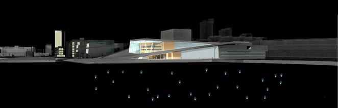 Gunda Foerster, LIGHT IMPULSE, New Opera House – Water Project, Oslo | concept, 2007_10