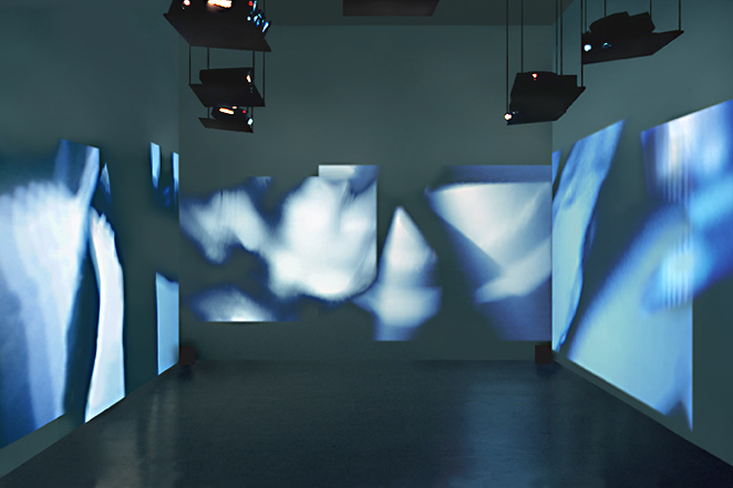 Gunda Foerster, CUT, slide projection + sound, 2000_4