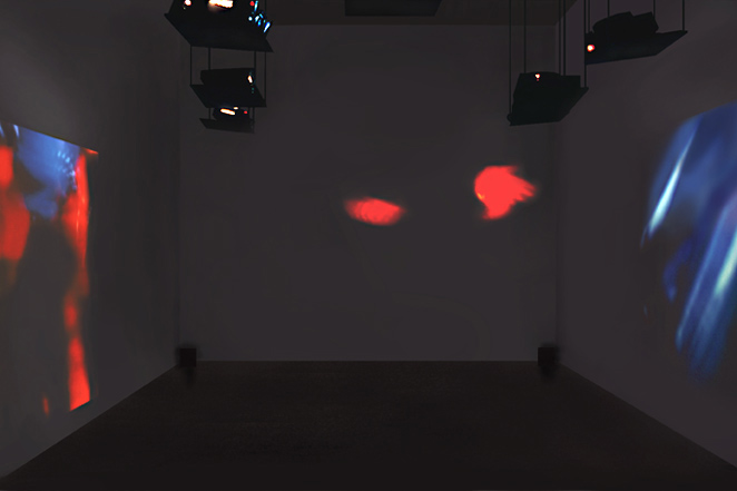 Gunda Foerster, CUT, slide projection + sound, 2000_3